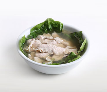 Sliced Lean Meat Soup